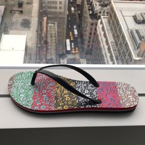 Alice and Olivia Eva rubber thong sandals